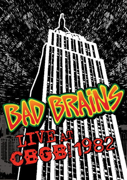 BAD BRAINS-LIVE AT CBGB 1982 DVD G