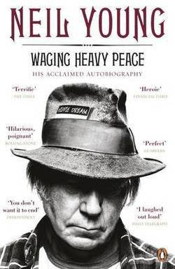 YOUNG NEIL-WAGING HEAVY PEACE BOOK *NEW*
