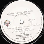 DEVO-WORKING IN A COAL MINE 7INCH VG