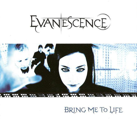 EVANESCENCE-BRING ME TO LIFE CD SINGLE VG