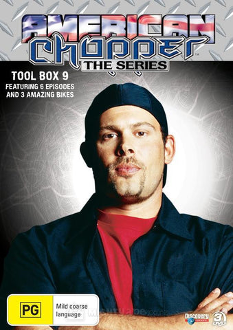 AMERICAN CHOPPER TOOL BOX 9-3DVD BOXSET M