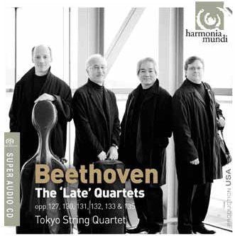 BEETHOVEN-THE LATE STRING QUARTETS TOKYO STRING QUARTET 3CD *NEW*