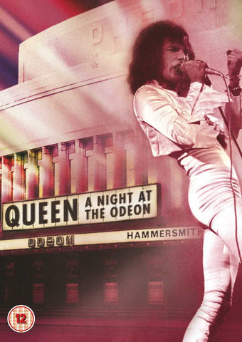 QUEEN-A NIGHT AT THE ODEON DVD VG+