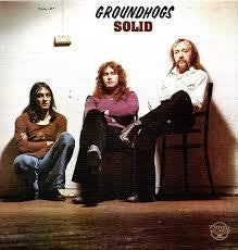 GROUNDHOGS-SOLID LP VG COVER VG+