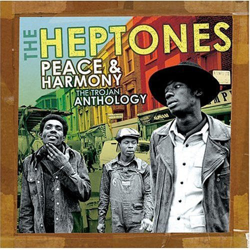 HEPTONES THE-PEACE & HARMONY THE TROJAN ANTHOLOGY 2CD VG