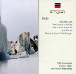 GRIEG-HOLBERG SUITE ELEGIAC MELODIES ETC CD VG