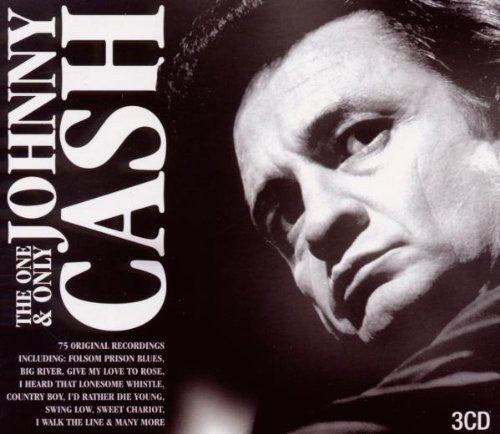 CASH JOHNNY-THE ONE AND ONLY 3CD VG