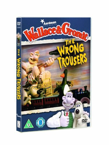 WRONG TROUSERS DVD REGION 2 VG