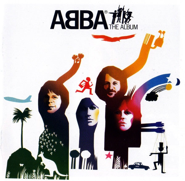 ABBA-THE ALBUM CD VG