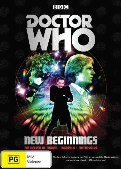 DOCTOR WHO NEW BEGINNINGS 3DVD VG (REGION 4)