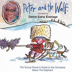 PROKOFIEV-PETER AND THE WOLF DAME EDNA EVERAGE CD *NEW*