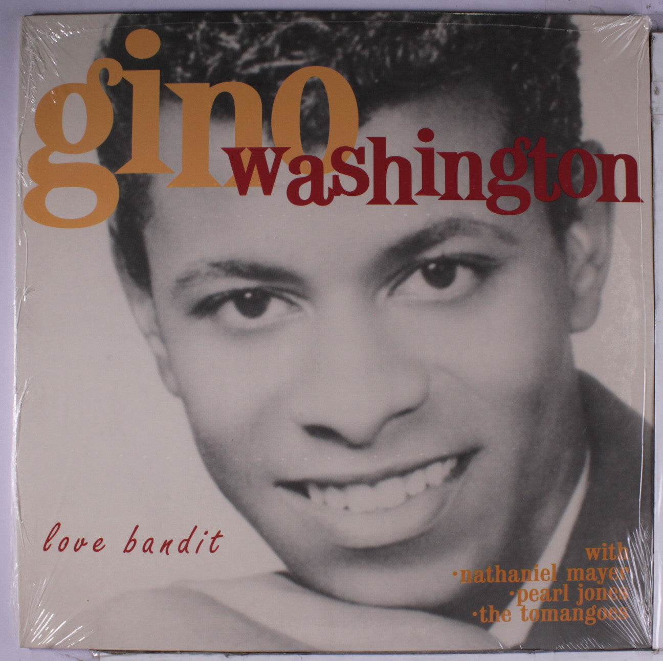 WASHINGTON GINO-LOVE BANDIT CD *NEW*