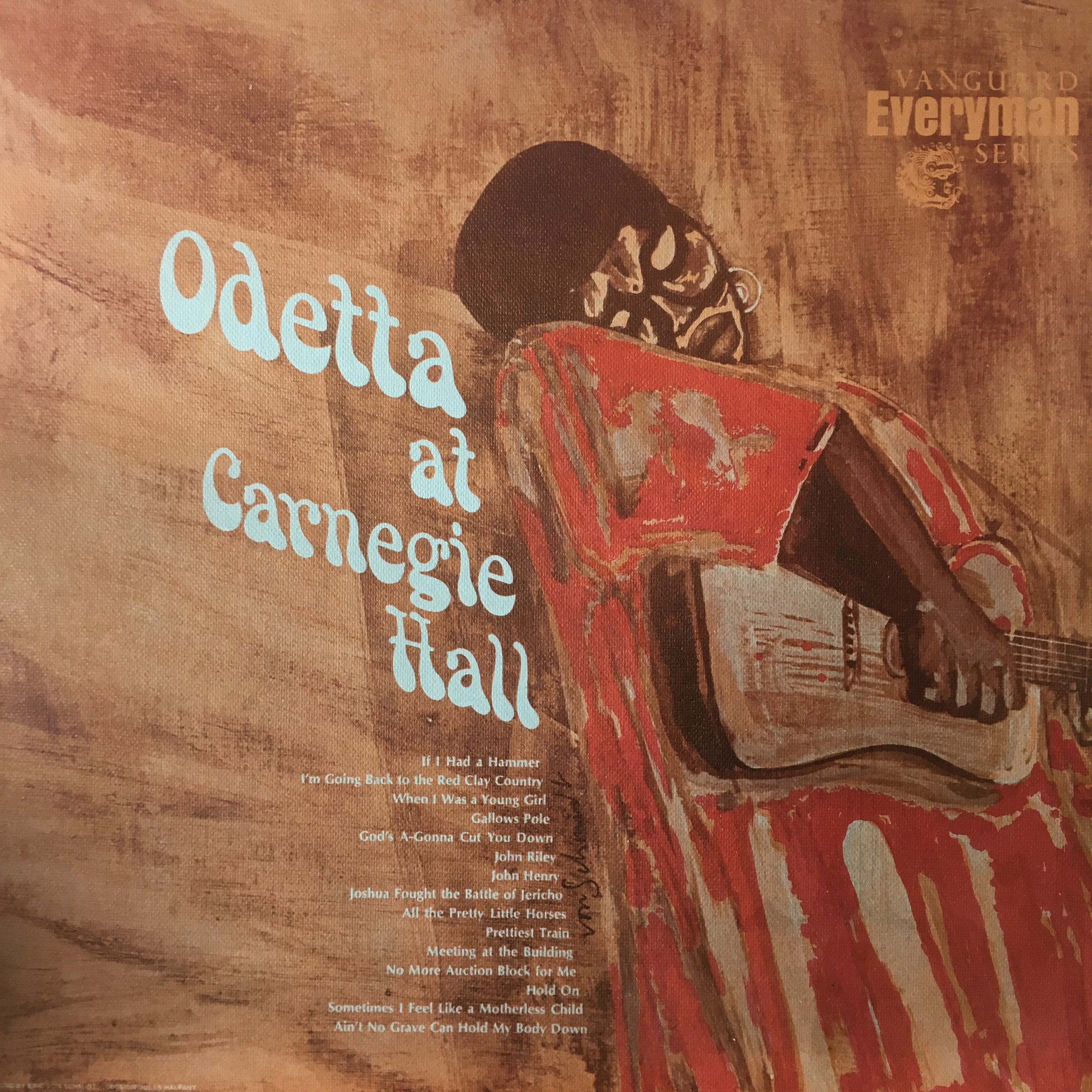 ODETTA-AT CARNEGIE HALL LP VG+ COVER VG+