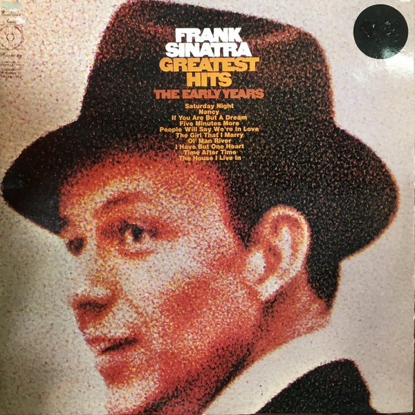 SINATRA FRANK-GREATEST HITS THE EARLY YEARS LP VG+ COVER G