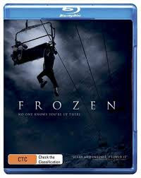 FROZEN-NO ONE KNOWS YOURE UP THERE BLURAY VG