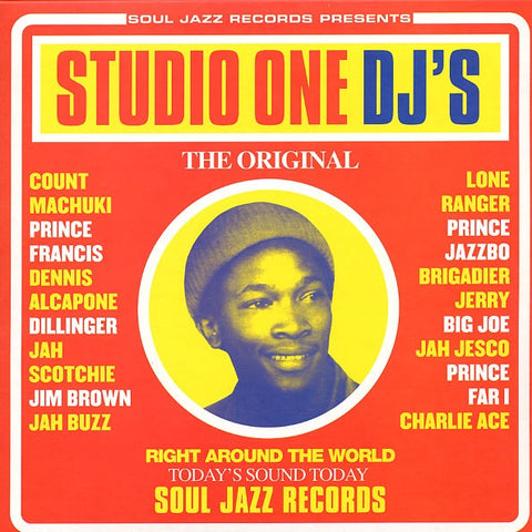 STUDIO ONE DJ'S-VARIOUS ARTISTS 2LP *NEW*