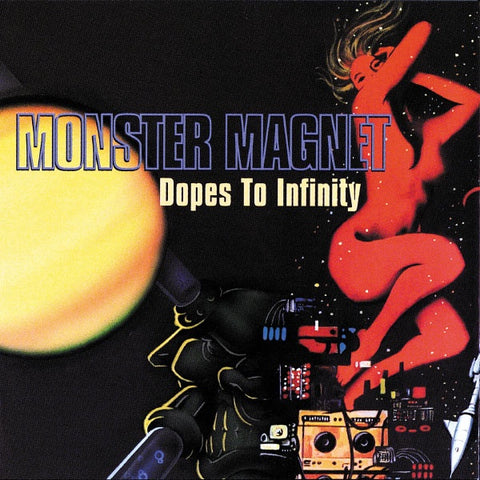 MONSTER MAGNET-DOPES TO INFINITY 2ND HAND CD VG