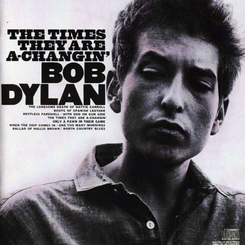 DYLAN BOB-THE TIMES THEY ARE A-CHANGIN' CD VG