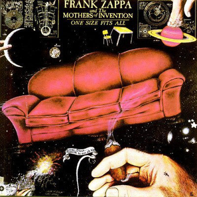 ZAPPA FRANK & THE MOTHERS OF INVENTION-ONE SIZE FITS ALL CD *NEW*