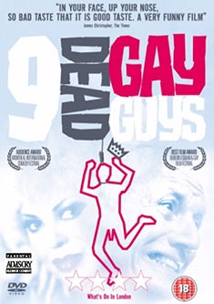 9 DEAD GAY GUYS DVD VG