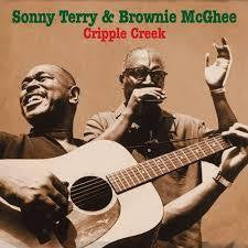 TERRY SONNY AND BROWNIE MCGHEE-CRIPPLE CREEK 2CD VG