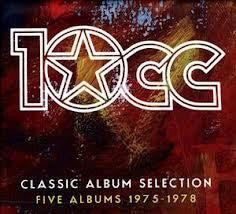 10CC-CLASSIC ALBUM SELECTION 5CD BOXSET *NEW*