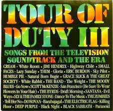 TOUR OF DUTY III OST- VARIOUS ARTISTS LP VG+ COVER VG+