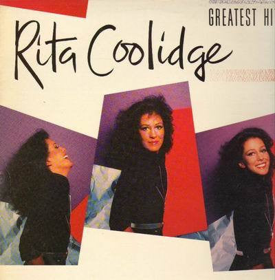 COOLIDGE RITA-GREATEST HITS LP E COVER VGPLUS