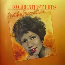 FRANKLIN ARETHA-30 GREATEST HITS 2LP VG+ COVER VG+