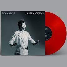 ANDERSON LAURIE-BIG SCIENCE RED VINYL LP *NEW*
