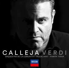 CALLEJA-VERDI CD *NEW*
