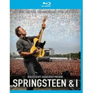 SPRINGSTEEN & I BLURAY VG+