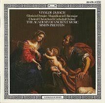 VIVALDI BACH - GLORIA IN D  MAGNIFICAT IN E FLAT MAJOR CD VG