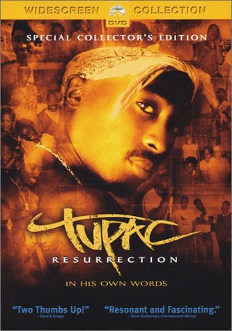 2PAC-RESURRECTION DVD VG