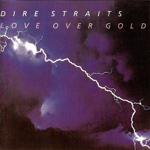 DIRE STRAITS-LOVE OVER GOLD CD VG
