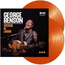 BENSON GEORGE-WEEKEND IN LONDON ORANGE VINYL 2LP *NEW*