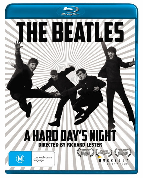 BEATLES THE-A HARD DAY'S NIGHT BLURAY + DVD VG