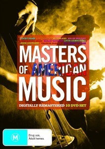 MASTERS OF AMERICAN MUSIC 10DVD VG