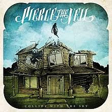 PIERCE THE VEIL-COLLIDE WITH THE SKY PINK VINYL LP NM COVER NM