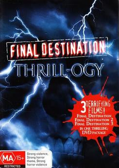 FINAL DESTINATION THRILLOGY 3DVD VG