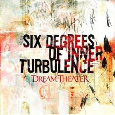 DREAM THEATER-SIX DEGREES OF INNER TURBULENCE 2CD VG