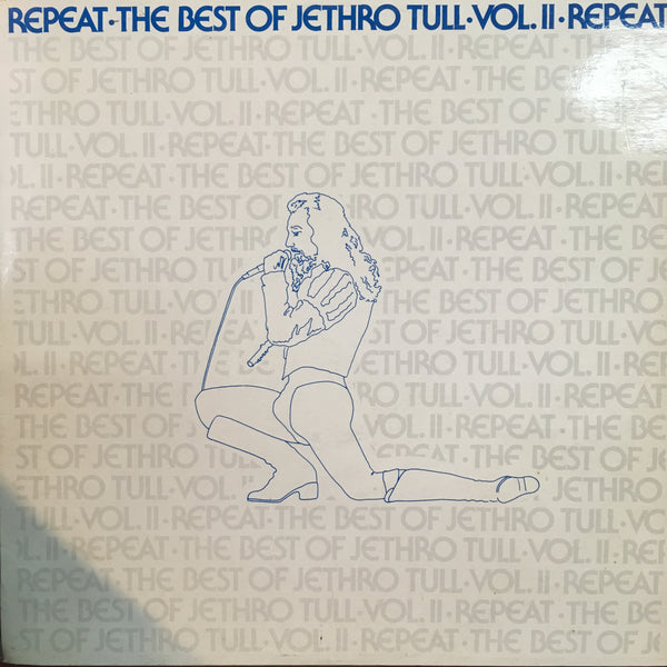 JETHRO TULL-REPEAT THE BEST OF VOL. II LP EX COVER VG+
