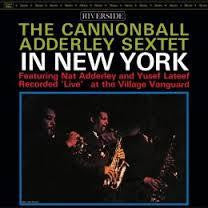 ADDERLEY CANNONBALL SEXTET-IN NEW YORK LP *NEW*