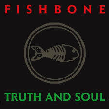 FISHBONE-TRUTH & SOUL RED VINYL LP NM COVER NM
