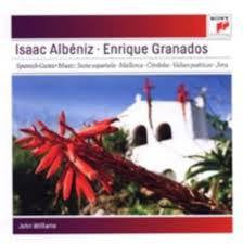 ALBENIZ ISAAC-ENRIQUE GRANADOS CD *NEW*