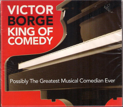 BORGE VICTOR-KING OF COMEDY CD *NEW*