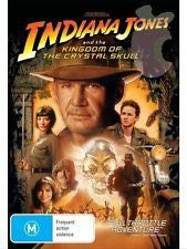 INDIANA JONES AND THE KINGDOM OF THE CRYTAL SKULL DVD VG