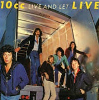 10CC-LIVE AND LET LIVE 2LP NM COVER VG+