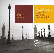 PETERSON OSCAR-STEPHANE GRAPPELLI JAZZ IN PARIS CD VG