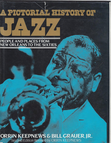 A PICTORIAL HISTORY OF JAZZ BOOK VG